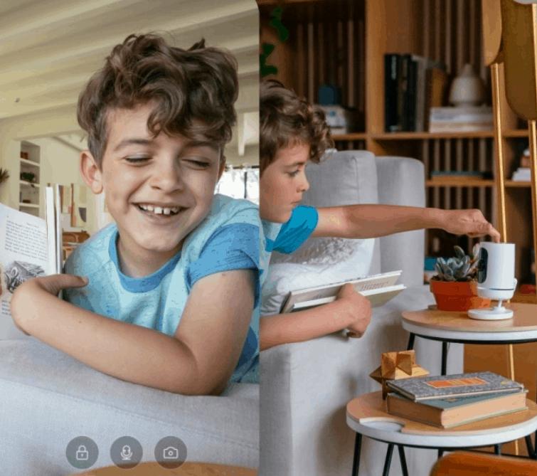 Indoor Camera Video